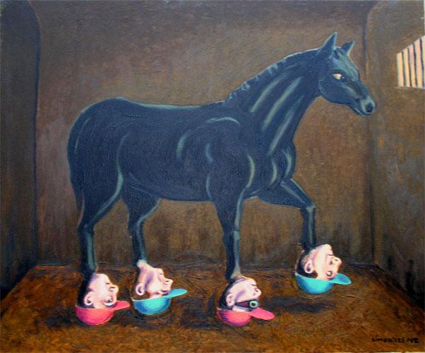 caballo de carreras simonides